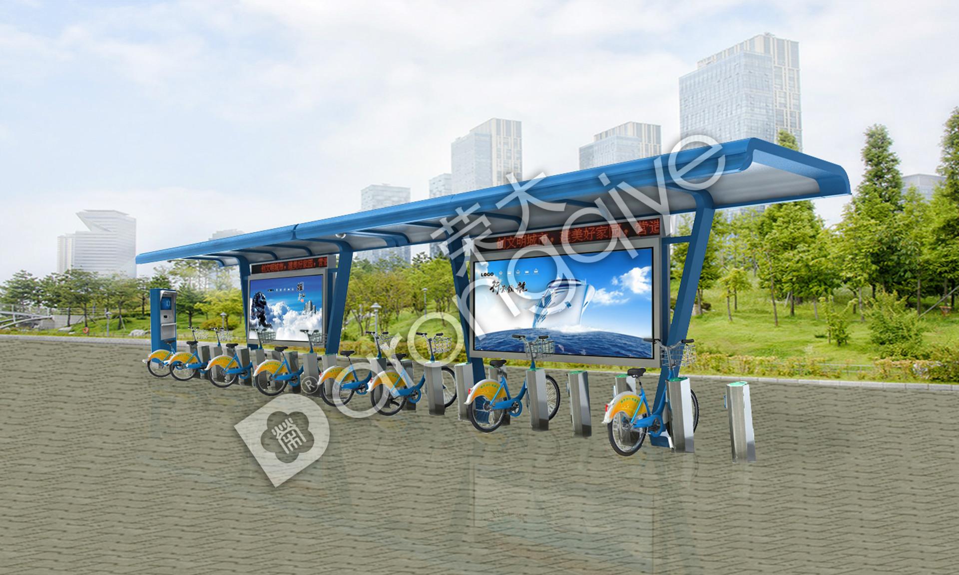 公共自行车棚的保养及制作要点