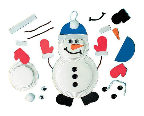 幼儿园手工材料_幼儿园手工材料儿童手工制作纸盘-7