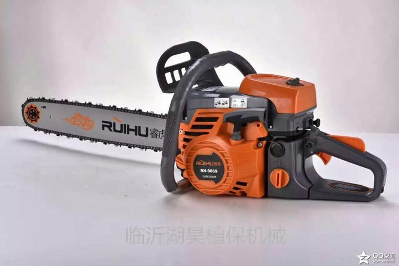 伐木大功率汽油汽油锯伐木机园林电锯易启动油锯锯新款夹趾平跟图片