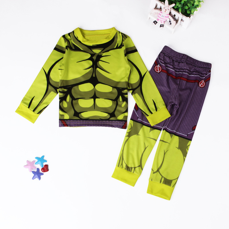Superhero Pajamas for kids and boys feature popular characters like Spiderman, Batman, and Superman. He will love his new superhero pjs each night.