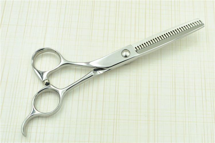 厂家供应高档左手剪美发剪刀工具理发剪刀牙剪平剪套装批图片