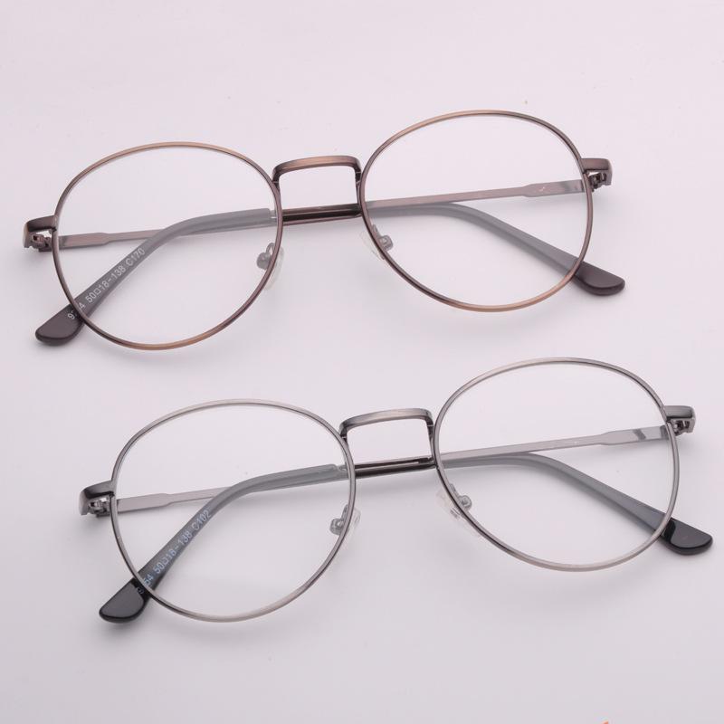 qq头像男生圆形眼镜