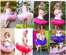 外贸女童芭蕾舞裙半身裙网纱tutu裙批发公主蓬蓬裙童裙现货中小童