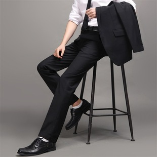 Business Men's trousers factory wholesale business suits men's trousers Slim career tooling iron men trousers au