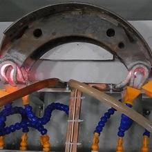 供应刹车片淬火设备、高频感应加热机、刹车蹄高频淬火