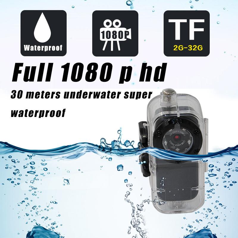 新款金属外观 S1智能声控录像 1080P防水夜视迷你摄像机