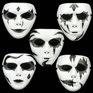 鬼面具,恐怖