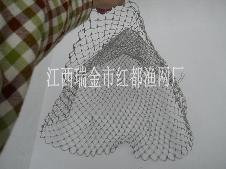 12股粗线纯手工编织网兜 抄网 渔网 鱼具