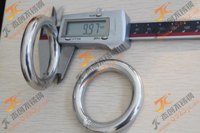 厂价直销M10*60 201不锈钢圆环/不锈钢圆圈/圆环
