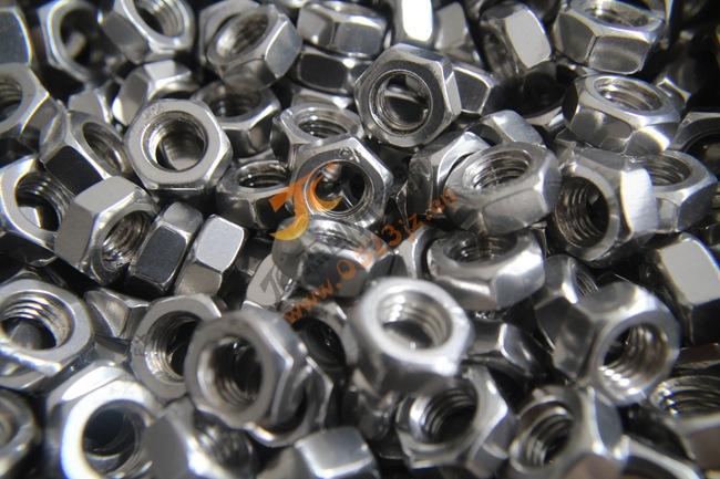 201不锈钢达标螺母 M10不锈钢达标螺母 六角螺帽螺母厂价直销