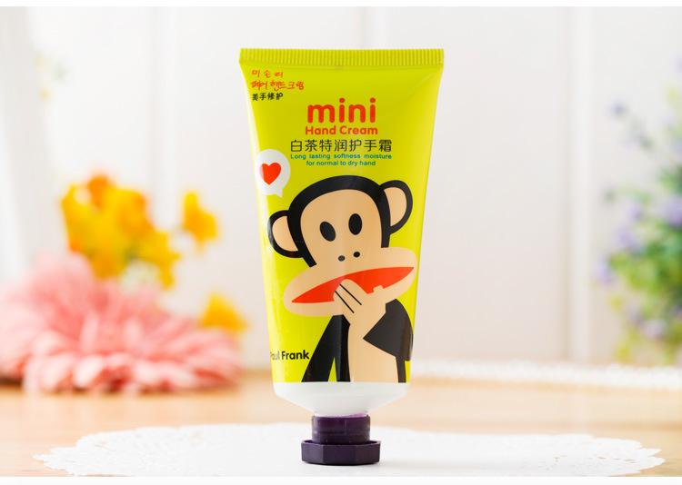 卡通护手霜_厂家热销mini迷你可爱小猴叮当猫卡通