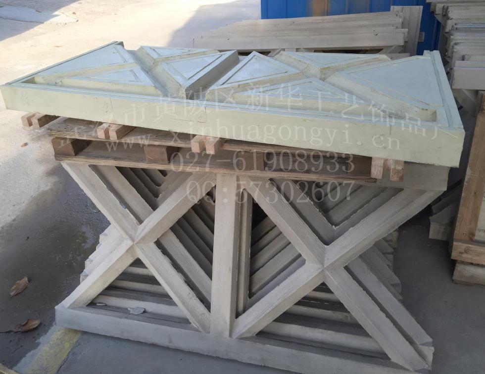 X型仿木护栏及模具