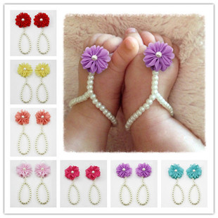Europe and selling baby shoes wholesale pearl Taobao ebay diy baby shoes Baby Bangle