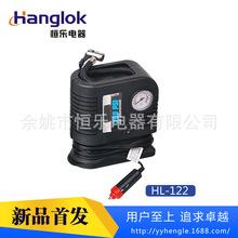 大批量供应车用便携式大功率塑料充气泵HL-122车载轮胎充气