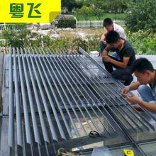 厂家直销 户外遮光铝合金百叶窗 可定制手动铝合金百叶窗