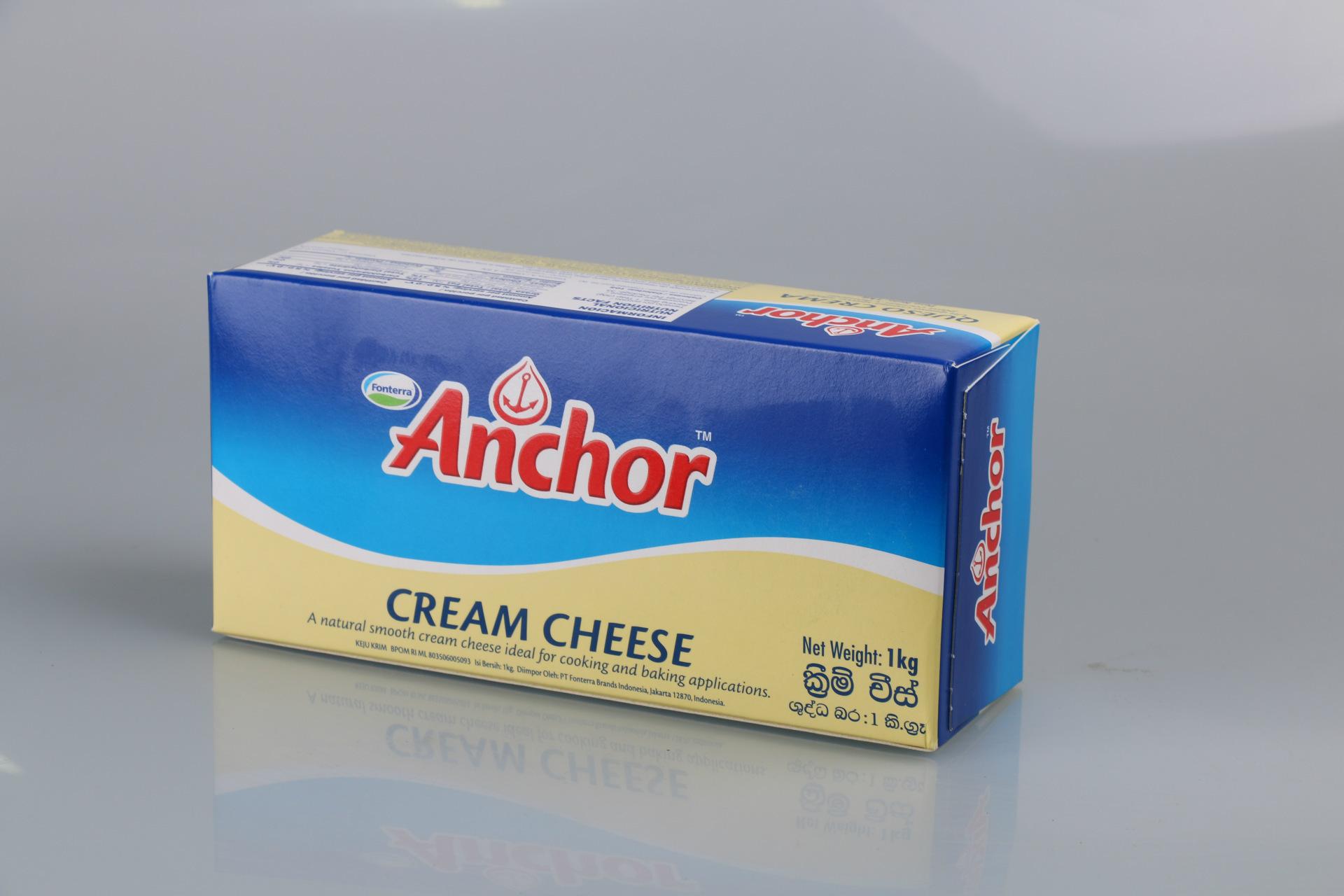 优质供应 安佳奶油乳酪/奶油芝士 cream cheese 12*1kg 批发