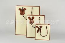 韩版简约礼品袋 蝴蝶结礼物纸盒颜色规格齐全首饰礼物袋厂家批发