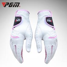 厂家直销 PGM Golf gloves  高尔夫手套 羊皮  女式 护指 训练