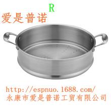 厂家直销健康厨房礼品不锈钢蒸笼蒸锅 32厘米 34cm高端厨具礼品