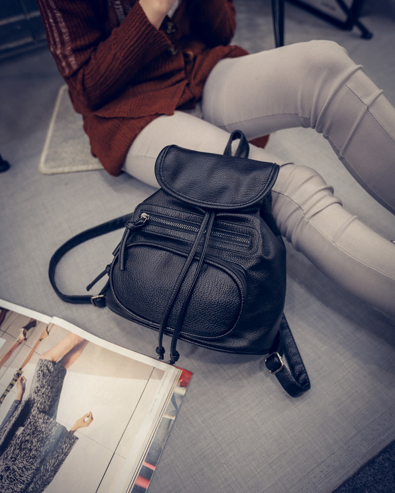 With the same handbags fashion shoulder bag leisure college wind bag