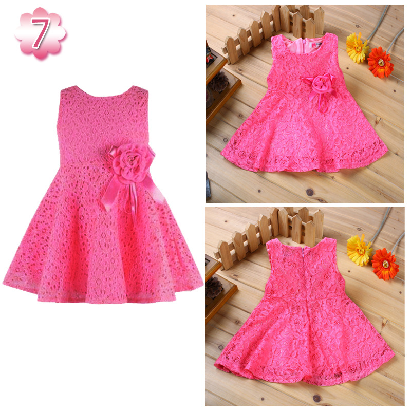 2018 2016 Kids Clothes Girl Dress Fashion Girls Clothing Lace Baby ...