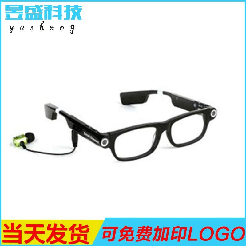 厂家热销 3d谷歌智能眼镜 超薄行车记录智能眼镜 智能电话眼镜