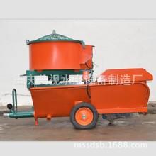 石膏喷涂机 螺杆式石膏砂浆喷涂机 带搅拌石膏喷涂机