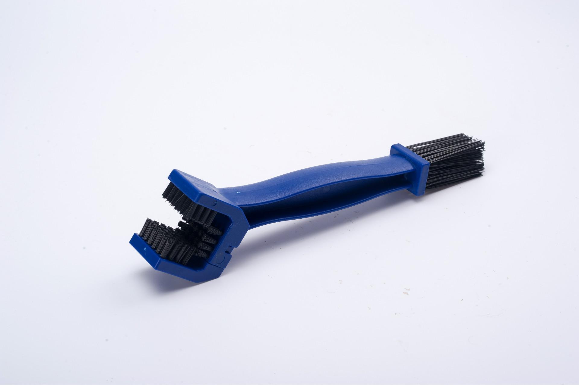 三面花灯清洁刷自行车链条刷链条清洁毛清洁盘刷牙毛刷天飞轮外壳18mm散热器图片