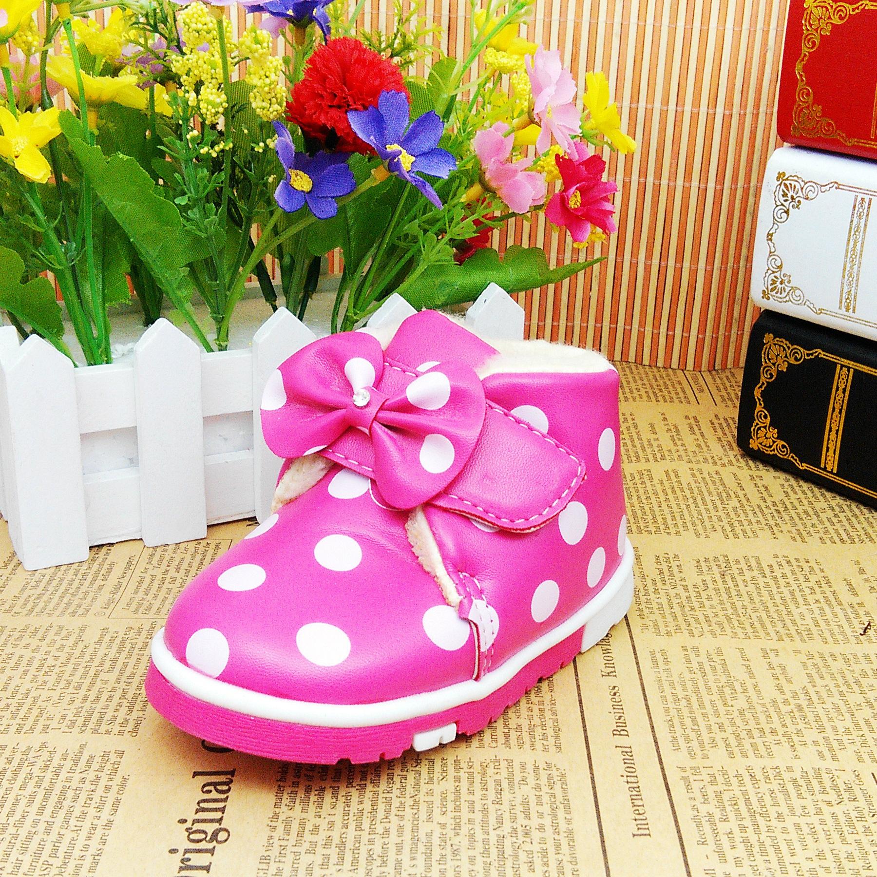 婴儿棉鞋的做法与图解