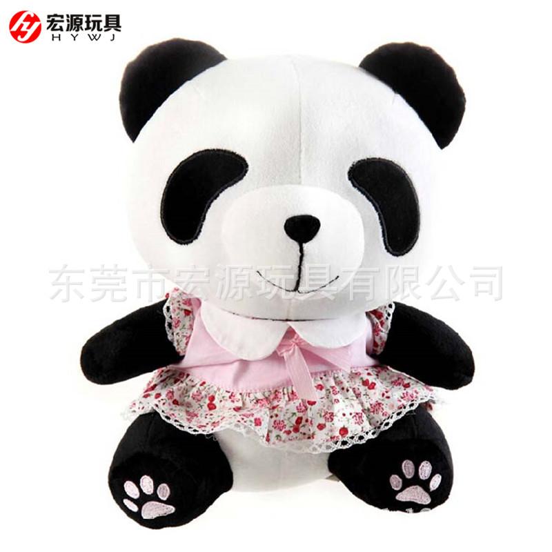 可爱熊猫公仔