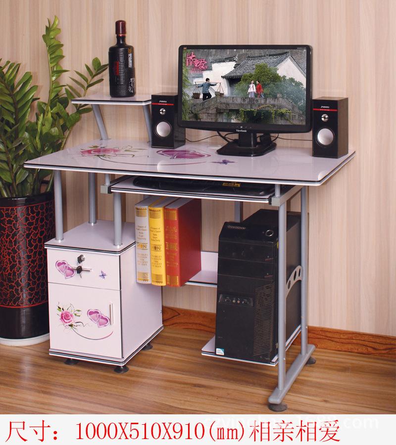 厂家批发简易电脑桌台式家用办公桌写字桌书桌简约现代台式电脑桌