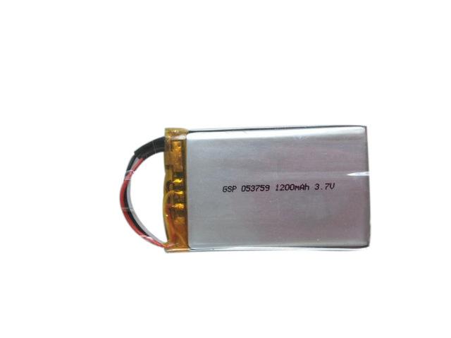 厂家定制1200mah蓝牙键盘 蓝牙鼠标053759数码类产品聚合物锂电池