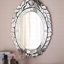 威尼斯雕花装饰镜 浴室镜子 化妆梳妆镜美容镜 镜面高端墙