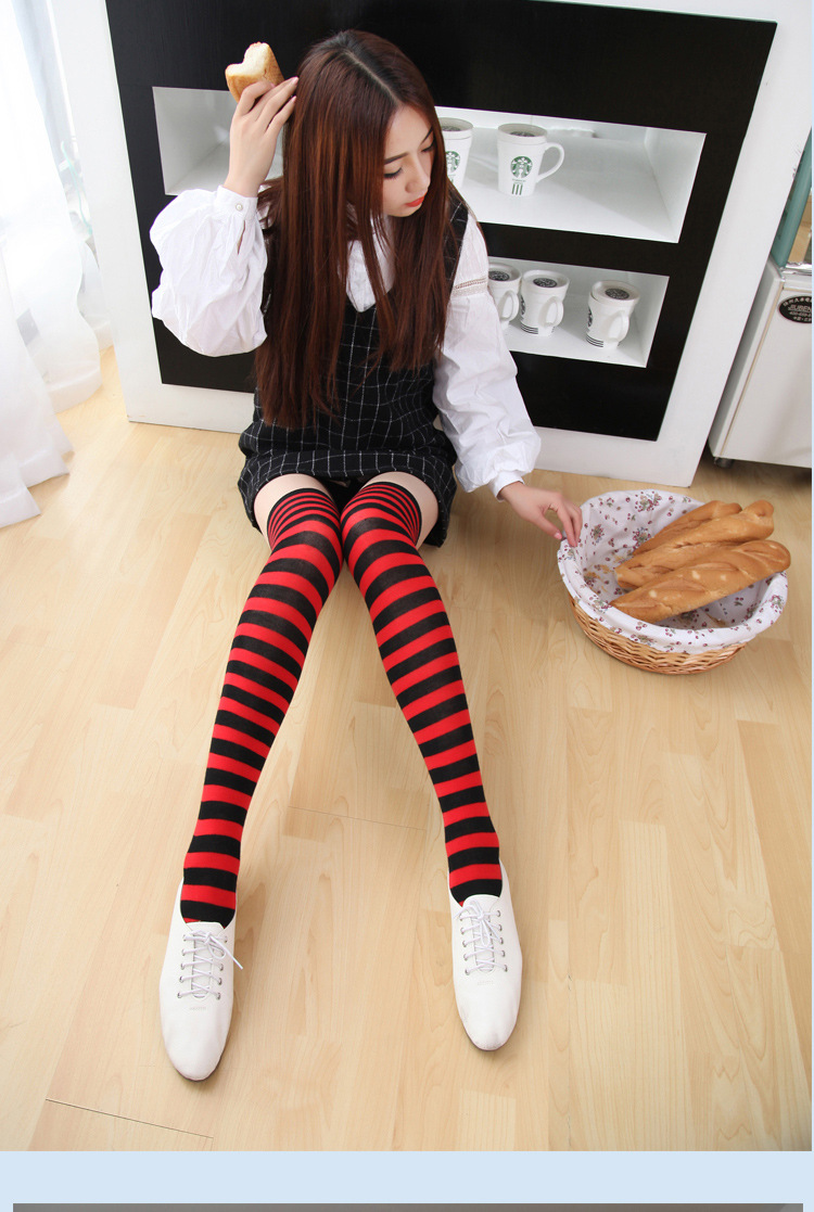 Amateur chick Cindy Cupcakes strips to knee high sport socks  1844685