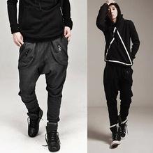 外贸批发新款韩版低档跨裤小脚裤吊裆裤男装运动裤卫裤 X77