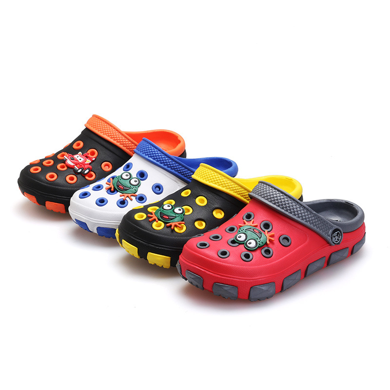 The Tong Xiaotong in Xia Nan of children cool slipper blocks wear-resisting of shoe of the hole that