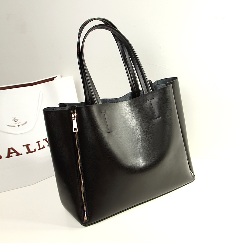 Genuine Leather female bag of new fund of autumn winters han...