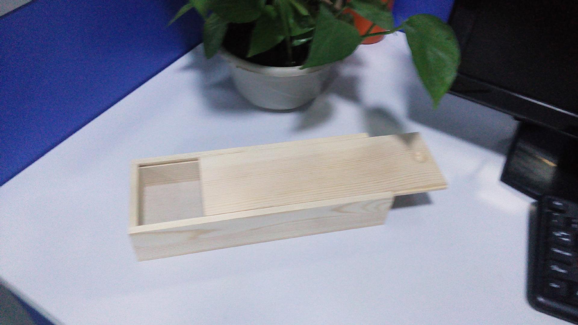 复古木盒子_长方形收纳盒