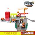 直销益智玩具多层拼装轨道工程汽车仿真儿童停车场模型玩具车