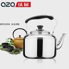 庆展5L高档加厚不锈钢水壶 鸣音壶 开水壶 烧水壶 磁燃煤通用