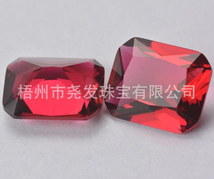 厂家大量仿锆石10×12mm蓝色倒角人工钻长方形流苏浅海宝石小香玻璃挎包斜链条图片