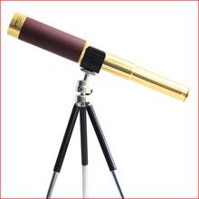 正品25X32高清大目镜25倍海盗式单筒望远镜升级版伸拉式望远镜
