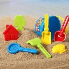 儿童沙滩玩具套装 宝宝沙滩车铲耙子桶大号沙漏玩沙挖沙工