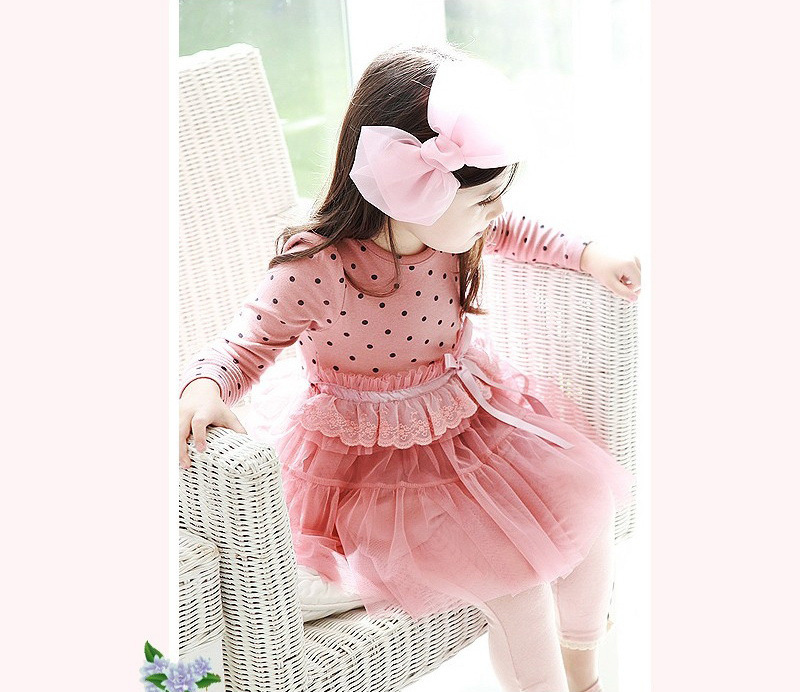 b b fille enfants robe princesse tutu haut en coton automne t v tements 2 7y ebay. Black Bedroom Furniture Sets. Home Design Ideas