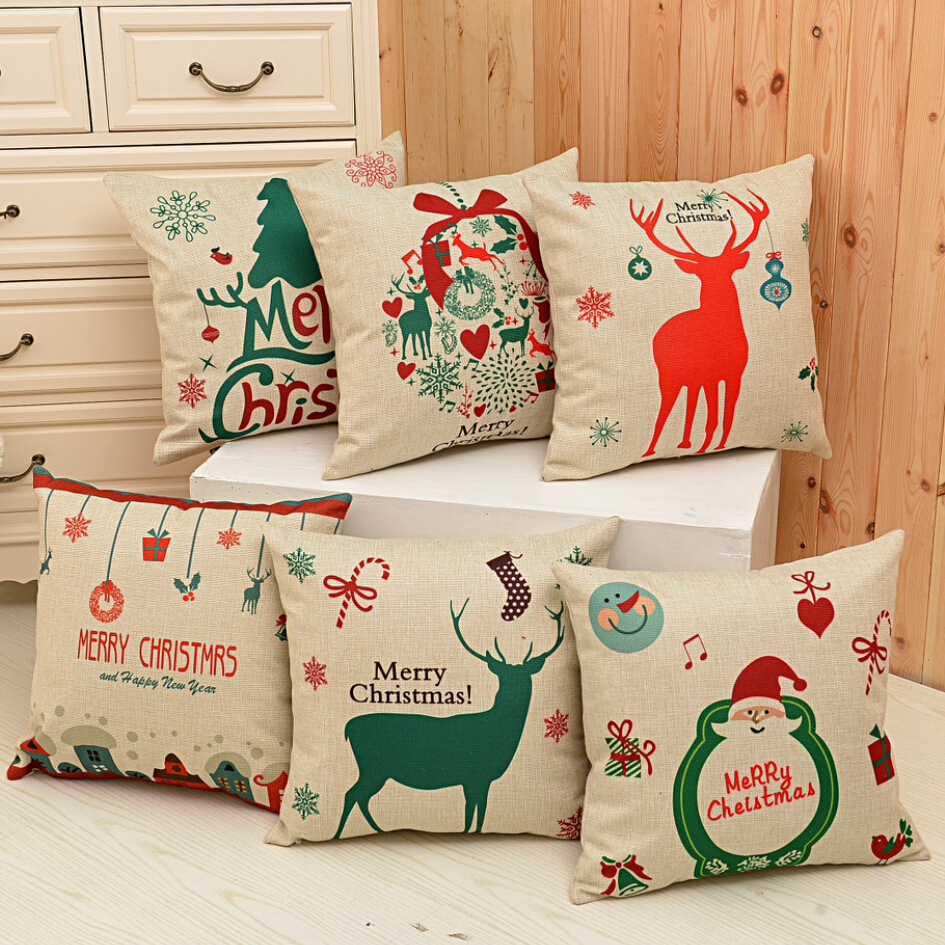 Home Decor Cushions detail image Material Signature Cotton Name Cushion Covers Size 4545cm Color As The Picture Shown Package Opp Bag Sales Wholesaleretailfree Shipping Use Home