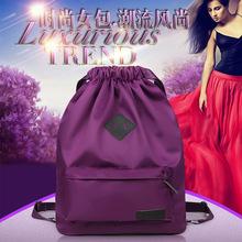 新款双肩包韩版学院风高中学生女包配皮休?#26032;?#34892;双背包 一件代发
