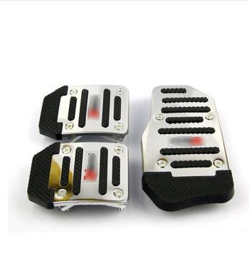 汽车油门脚踏板 铝合金防滑汽车脚踏板/刹车踏板手动自动油门踏板