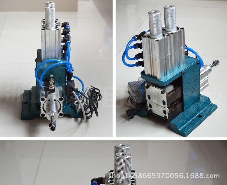 批发气动剥线机剥皮机xb-4f多芯线直立式剥皮机细线气剥机切线机图片