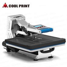 40*50液压平板烫画机 t恤高压烫画机 热转印压烫机 服装烫画机