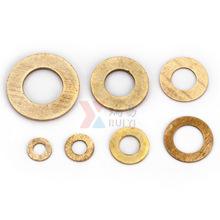 黄铜垫圈 铜平垫 GB97黄铜垫片 铜平介M2.5-M20